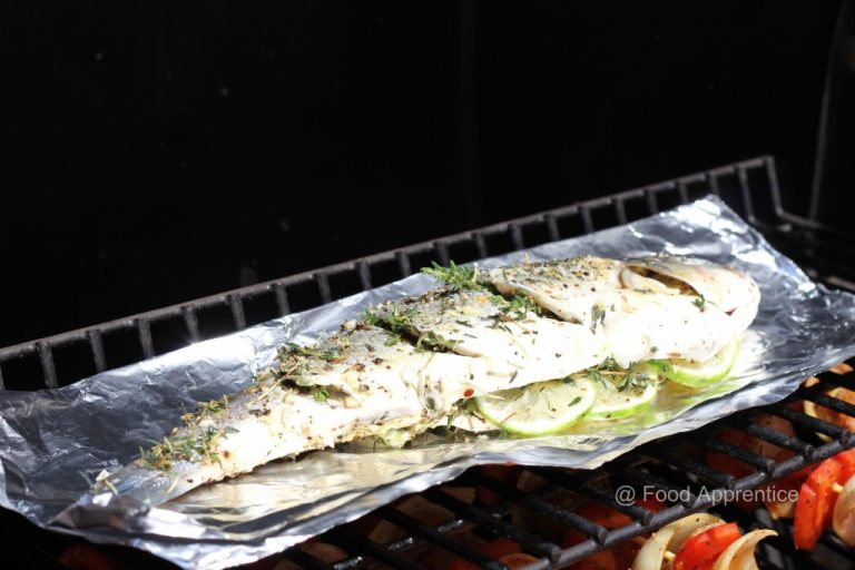 Grilled Thyme Seabass